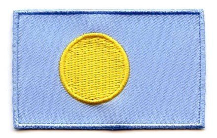 vlag patch Palau