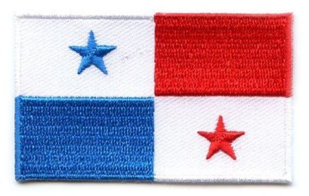 Flaggenpatch Panama