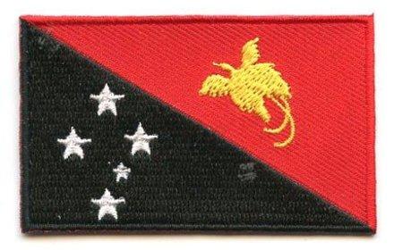 vlag patch Papoea-Nieuw-Guinea