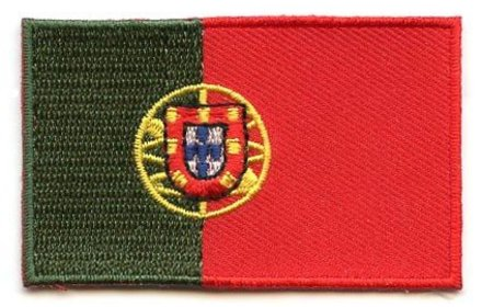 vlag patch Portugal