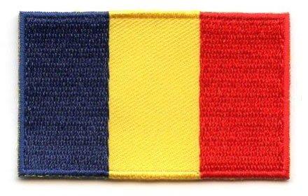 Flaggen-Patch Rumänien