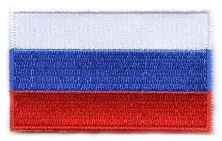 vlag patch Rusland