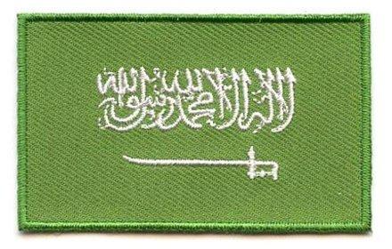 Flagge Patch Saudi-Arabien
