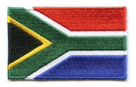 flag patch South Africa