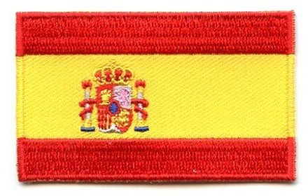 vlag patch Spanje