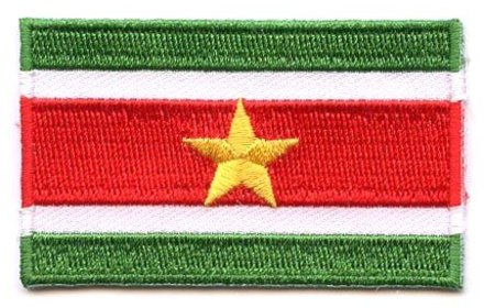 flag patch Suriname