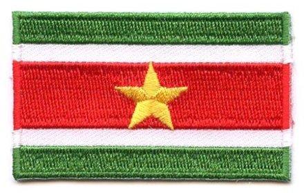 flag patch Suriname