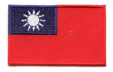 vlag patch Taiwan
