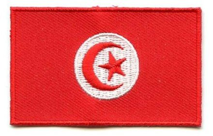 vlag patch Tunesië
