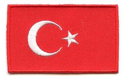 vlag patch Turkije