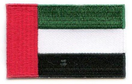 Flaggenpatch Vereinigte Arabische Emirate