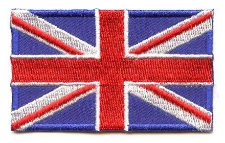 vlag patch Verenigd Koninkrijk