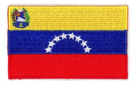 flag patch Venezuela