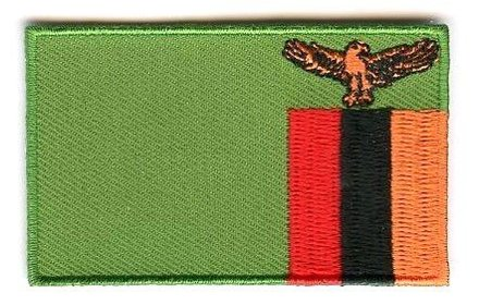 flag patch Zambia