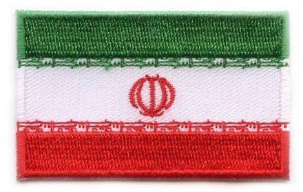 vlag patch Iran