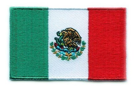 Flaggenpatch Mexiko