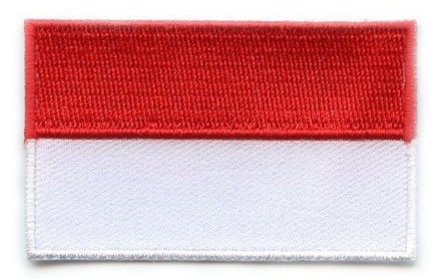 vlag patch Monaco