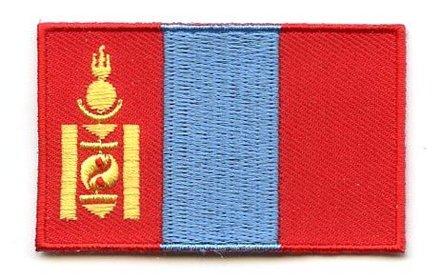 vlag patch Mongolië