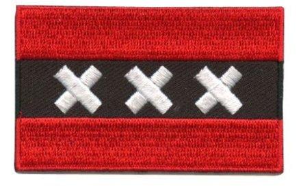 vlag patch Amsterdam