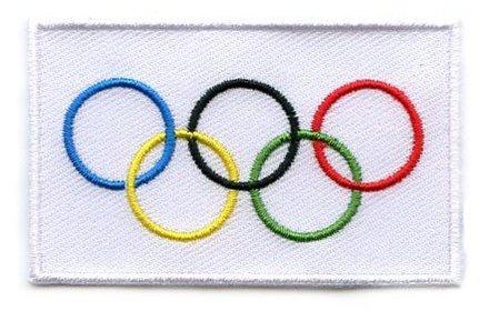 vlag patch Olympische Spelen