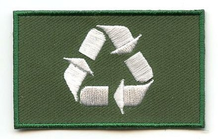 vlag patch Recycle