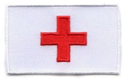 vlag patch Rode Kruis