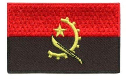 Flaggenpatch Angola