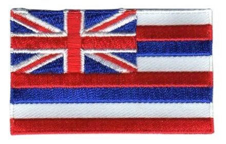 vlag patch Hawaii