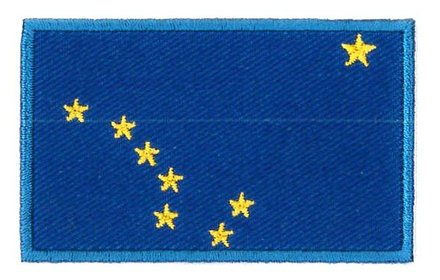 vlag patch Alaska