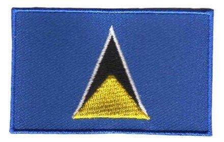 Flaggenflecken St. Lucia