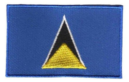 vlag patch Saint Lucia