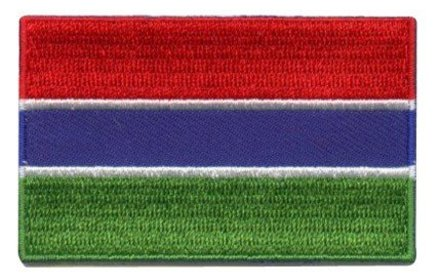 vlag patch Gambia