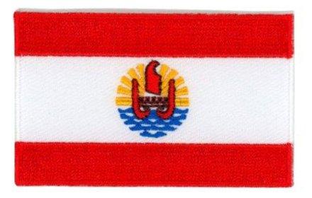 Flaggenpatch Französisch-Polynesien