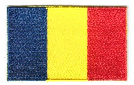 vlaggetje Tsjaad