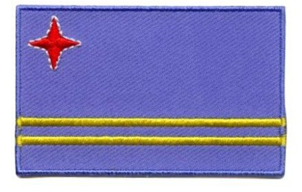 vlag patch Aruba
