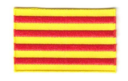 Flagge Patch Katalonien
