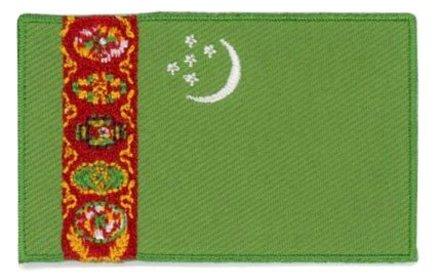 flag patch Turkmenistan