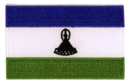 vlag patch Lesotho