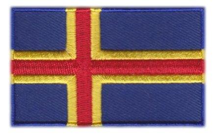 Flaggen-Patch Åland