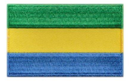 vlaggetje Gabon