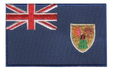 Flagge patch Turks- und Caicosinseln