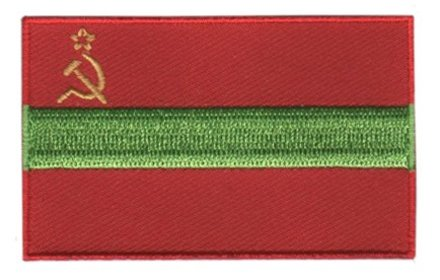 flag patch Transnistria
