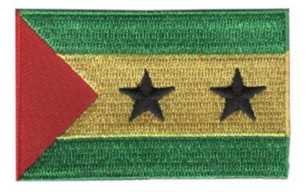 vlag patch São Tomé en Principe