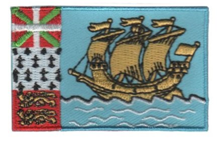 flag patch Saint Pierre and Miquelon