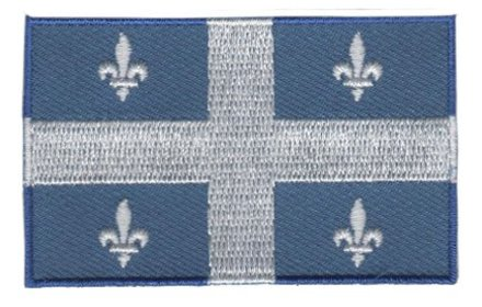 flag patch Quebec