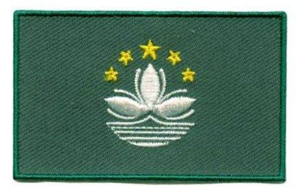 Flagge Patch Macau