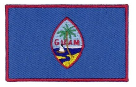 vlag patch Guam