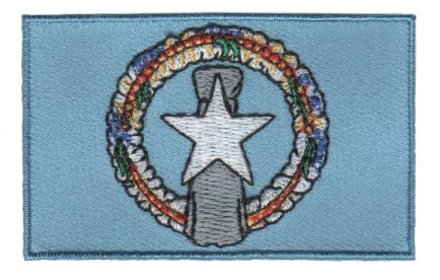 flag patch Northern Mariana Islands
