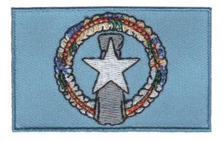 vlag patch Noordelijke Marianen