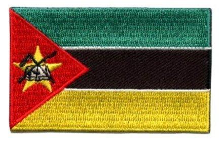Flagge Patch Mosambik